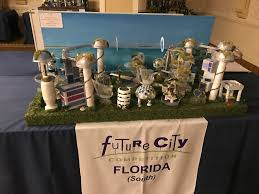 future city competition florida south future city st hugh catholic school scale model