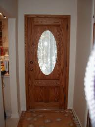 oval glass door insert implausible incredible inserting into a wood entry with regard to home interior