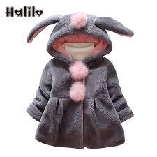 halilo baby girl winter coat
