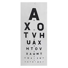 Where Can I Buy An Eye Chart Mcp Eye Vision Chart Buy Mcp Eye Vision Chart From Amazon Co Uk