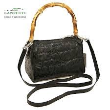 animal bag lanzetti bamboo handle is a stylish new work