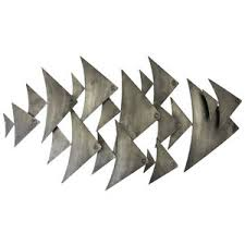 wall art ideas design triangle fish wall art sample great nice awesome metal stainless steel shoal polyvore tropical nautical nautical fish wall art  on fish wall art metal with wall art ideas design triangle fish wall art sample great nice