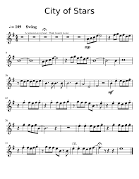 city of stars violin sheet music city of stars violin sheet music for violin musescore