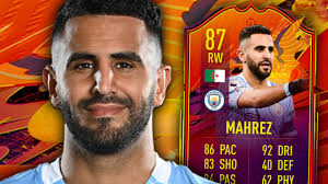 FIFA 21 HEADLINER MAHREZ 87 PLAYER REVIEW - YouTube
