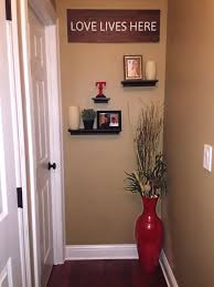 Hallway Decorating Cute Idea To Decorate The End Of A Hallway Floating Shelves