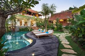 all of the 5 javanese style traditional wooden houses have natural finishing and consist of 9 bedrooms which in total can accommodate up to 18 s