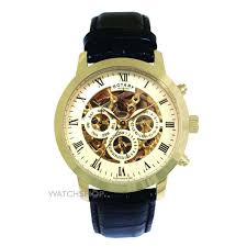 men s rotary vintage skeleton automatic watch gs02375 01 watch mens rotary vintage skeleton automatic watch gs02375 01