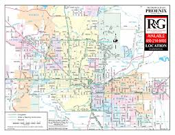 phoenix arizona map  rein  grossoehme commercial real estate