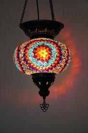 large mosaic lamp er pendant light hanging lantern gift moroccan lanterns electric fireplace design dimensions