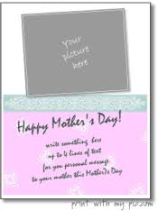 Print A Mother S Day Card Online Printable Mothers Day Picture Frames Mothers Day Card Templates