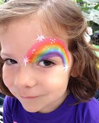 simple face painting designs are not hard many people think that in order to have a great face painting creation they have to use complex designs