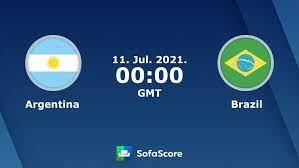 Argentina Brazil live score, video ...