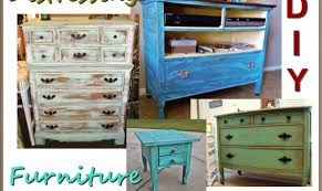 meg made creations how to make wood furniture look old antique