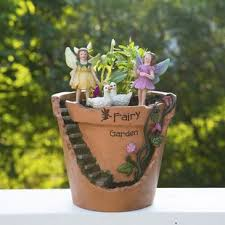 Fairy Garden Broken Planter