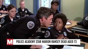 Marion Ramsey dead: Police Academy star dies aged 73 after short illness -  Mirror Online