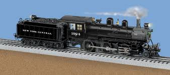 new york central tmcc scale 2 6 0 mogul steam locomotive 1924  at American Flyer Track Layouts Complete With Wiring Diagrams