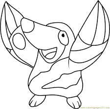 Small Picture Drilbur Pokemon Coloring Page Free Pokmon Coloring Pages