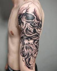 At Doddstattoo Steven Dodds Poseidon And Cthulhu Piece Today