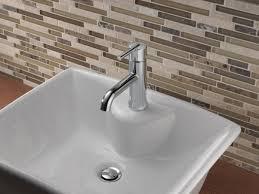 delta bathroom faucets brushed nickel. Delta Trinsic Bathroom Faucet Faucets Brushed Nickel