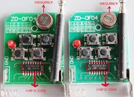 how to reset garage door openerCloning Remote Control Key Fob 433Mhz Universal Garage Door Gate