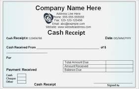 Payment Receipte Excel Bill Schedule Spreadsheet Pay