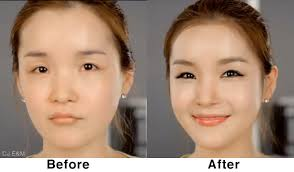 korean face makeup photo 3