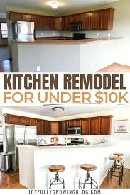 Budget For Kitchen Remodel Diy Kitchen Remodel On A Budget Athayakeenan Co