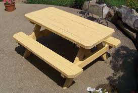 wooden picnic tables and benches kids wooden picnic table plans