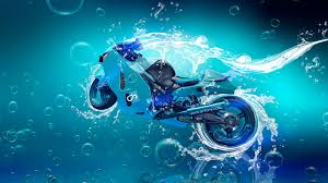 suzuki hayabusa super underwater car