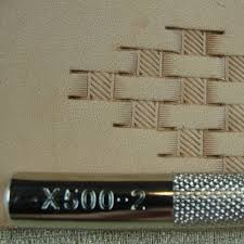 leather stamping tool x500 2 basket weave stamp 2 2 of 5