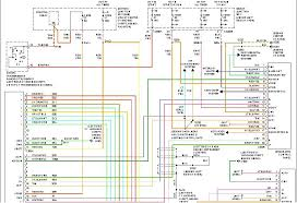 taurus i a wire diagram audio system factory amp in the trunk below is the audio wiring schematic for your vehicle if this doesn t help you out just let me know so i can opt out of the question and let another expert