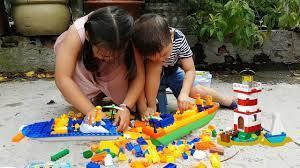 Trò Chơi Xếp Hình Tàu Cá ❤ ChiChi ToysReview TV ❤ Đồ Chơi Trẻ Em Baby Doli  Song - YouTube