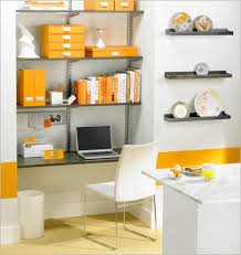 office shelving ideas. Lovely Pictures Of Small Home Office Design And Decoration Ideas : Good Picture Yellow Shelving E