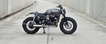 nice combination cafe tracker honda gl400 streettracker zf