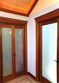 bedroom doors with glass indoor