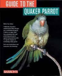 barrons books guide to the quaker parrot