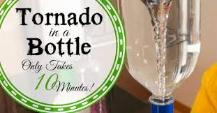 How To Make A Tornado In A Bottle With Your Kids