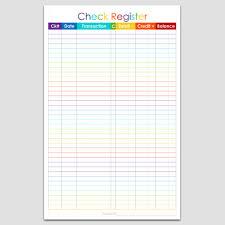 Check Register Printable