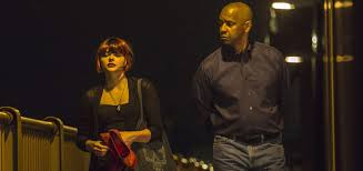 The equalizer is a 2014 american vigilante action directed by antoine fuqua, loosely based on the 1980s tv series of the same name. The Equalizer 2014 Movie Trailer Release Date Cast Plot Photos