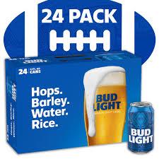 24 Pack Of Natty Light Bud Light Beer 24 Pack 12 Fl Oz Cans Walmart Inventory