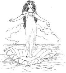 Greek Goddess Drawing At Getdrawingscom Free For Personal Use