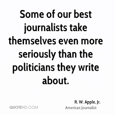 How To Write A Quote Delectable R W Apple Jr Quotes QuoteHD