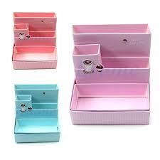 diy paper board storage box desk decor stationery makeup