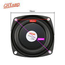 2 Adet 3 Inç 78 MM Bas Radyatör Pasif Hoparlör Için 2-5 Inç Ev Yapımı  Bluetooth Hoparlörler Yardımcı Düşük Frekans Kauçuk DIY Kategoride.  Taşınabilir Hoparlörler. Www9.radiosamagra.org