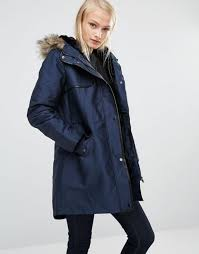 oasis parka jacket with faux fur and leather look trim navy women jackets oasis jumpsuits oasis cropped trousers delicate colors