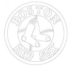 Small Picture Red Sox Coloring Pages Boston Red Sox Coloring Pages Coloring for