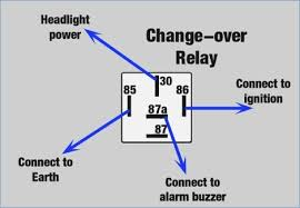 changeover relay wiring diagram bioart me Relay Schematic wiring diagram 12 volt relay wiring diagram 5 wire relay wiring