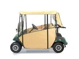 ezgo golf cart enclosures enclosure for 2 passenger ezgo marathon golf cart seat covers ez go
