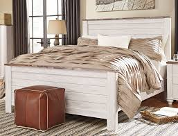 white king bedroom sets. Classic Rustic Whitewashed King Bed - Millhaven White Bedroom Sets