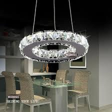 aliexpress modern led ring lamp light fixture crytsal cool modern light fixtures
